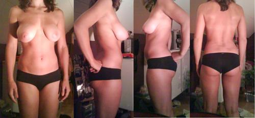 stora hängiga bröst